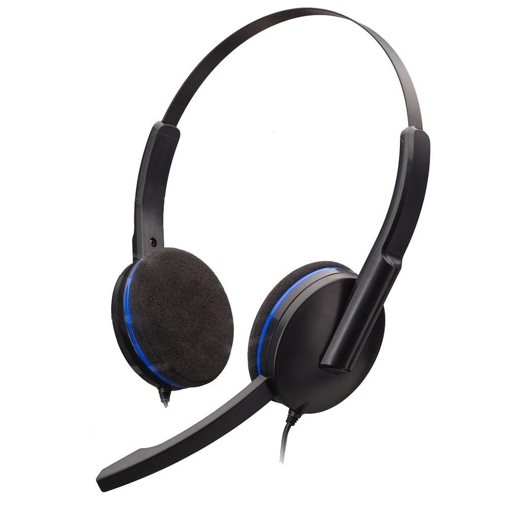 Геймърски слушалки Nacon Bigben PS4 Headset, Микрофон, Черен