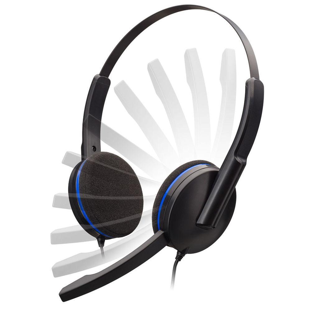 Геймърски слушалки Nacon Bigben PS4 Headset, Микрофон, Черен-2