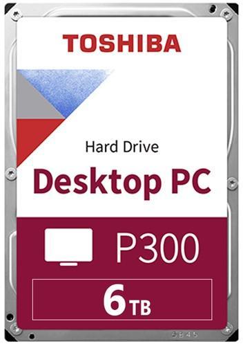Хард диск TOSHIBA P300, 6TB, 5400rpm, 128MB, SATA 3