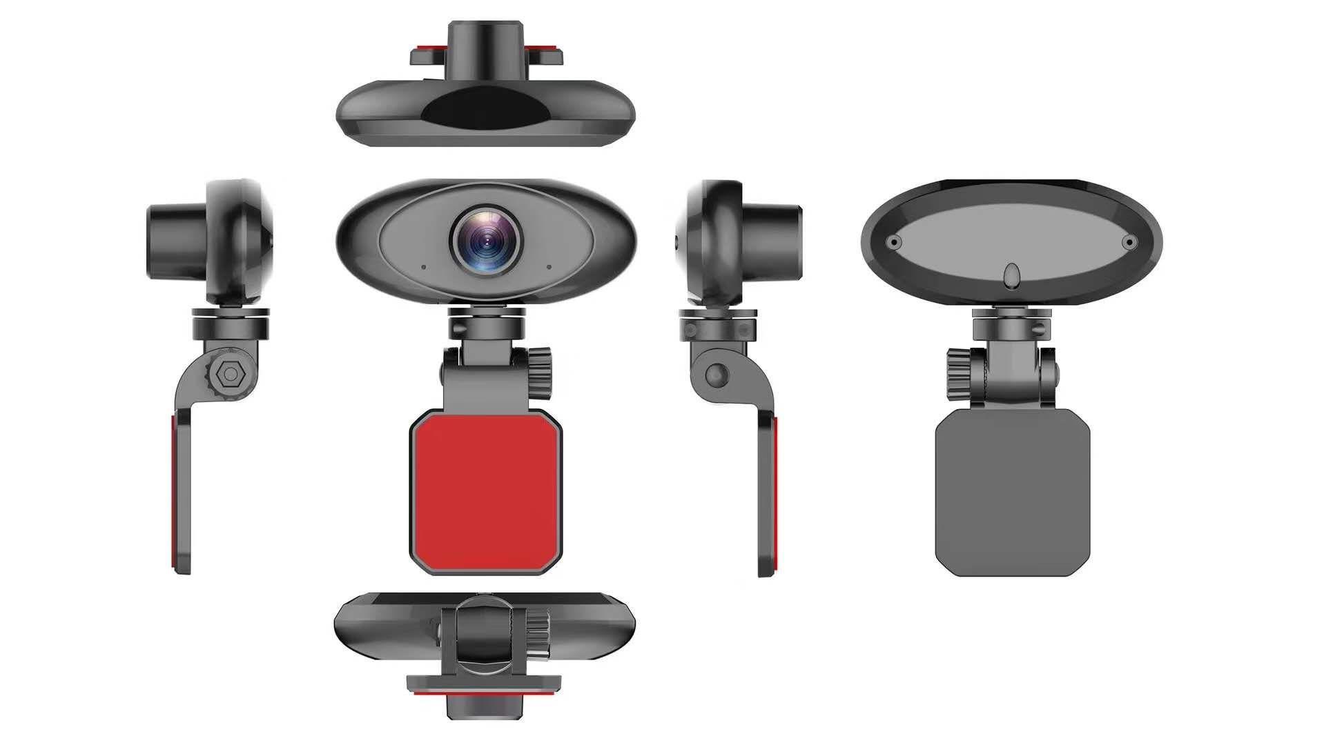 Уеб камера Spire CG-ASK-WL-012, микрофон, HD 720P, Черна-4