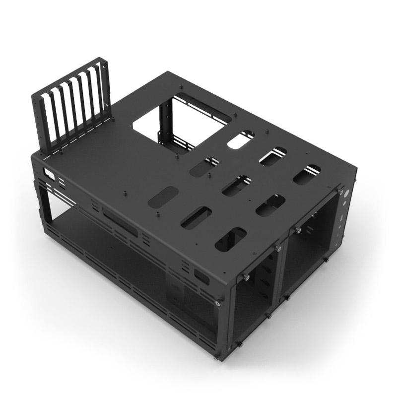 Кутия Jonsbo TB01 Benchtable, черна