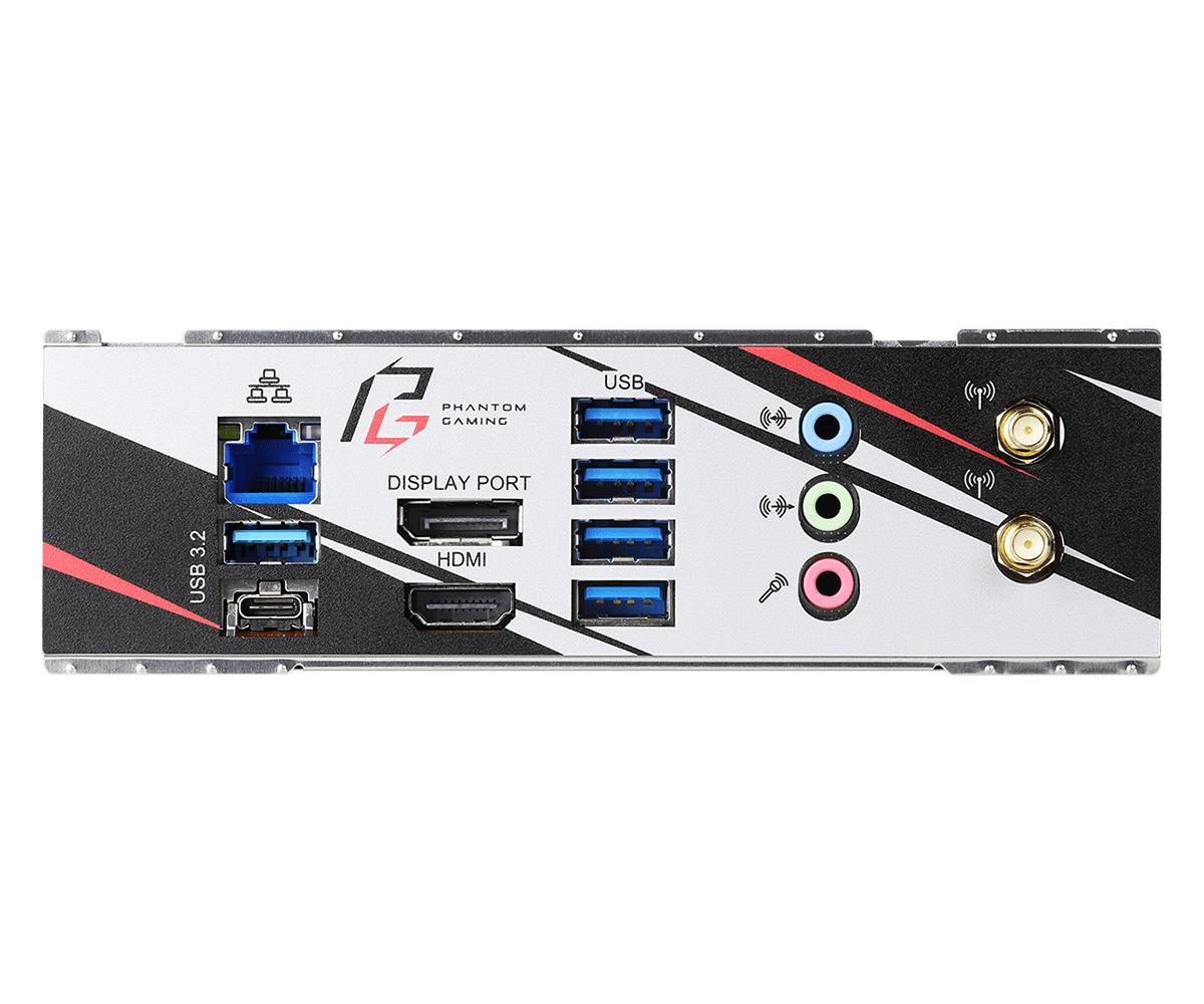 Дънна платка ASRock B550 Phantom Gaming-ITX/ax, AM4, Polychrome RGB-4