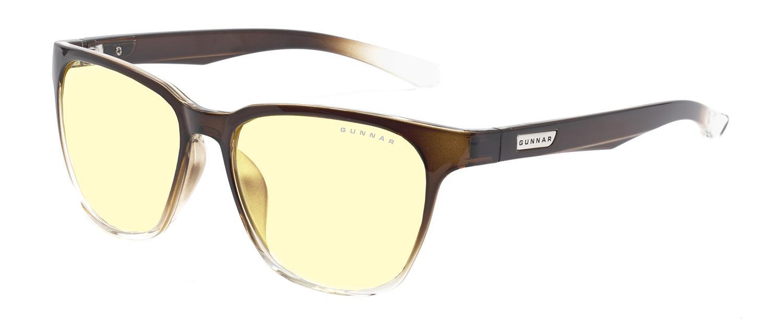 Геймърски очила GUNNAR Berkeley Latte Fade, Amber, Кафяв
