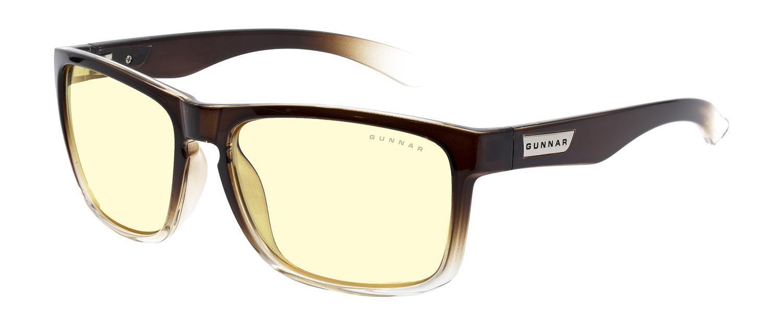 Геймърски очила GUNNAR Intercept Latte Fade, Amber, Кафяв