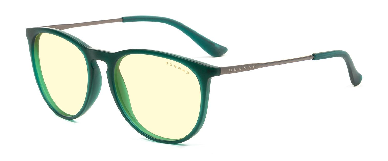 Геймърски очила GUNNAR Menlo Emerald, Amber, Зелен