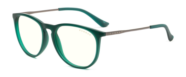 Геймърски очила GUNNAR Menlo Emerald, Clear, Зелен