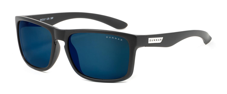 Слънчеви очила GUNNAR INTERCEPT Onyx, Sun, Черен