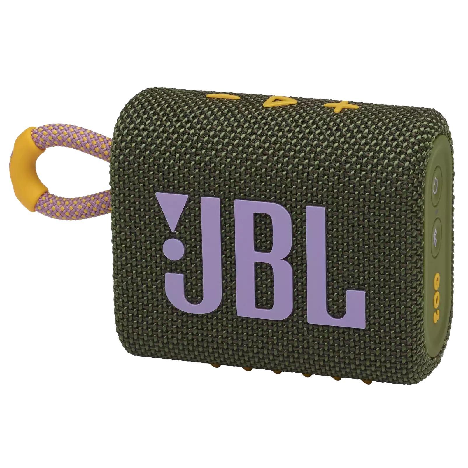 Блутут колонка JBL GO 3 Зелен