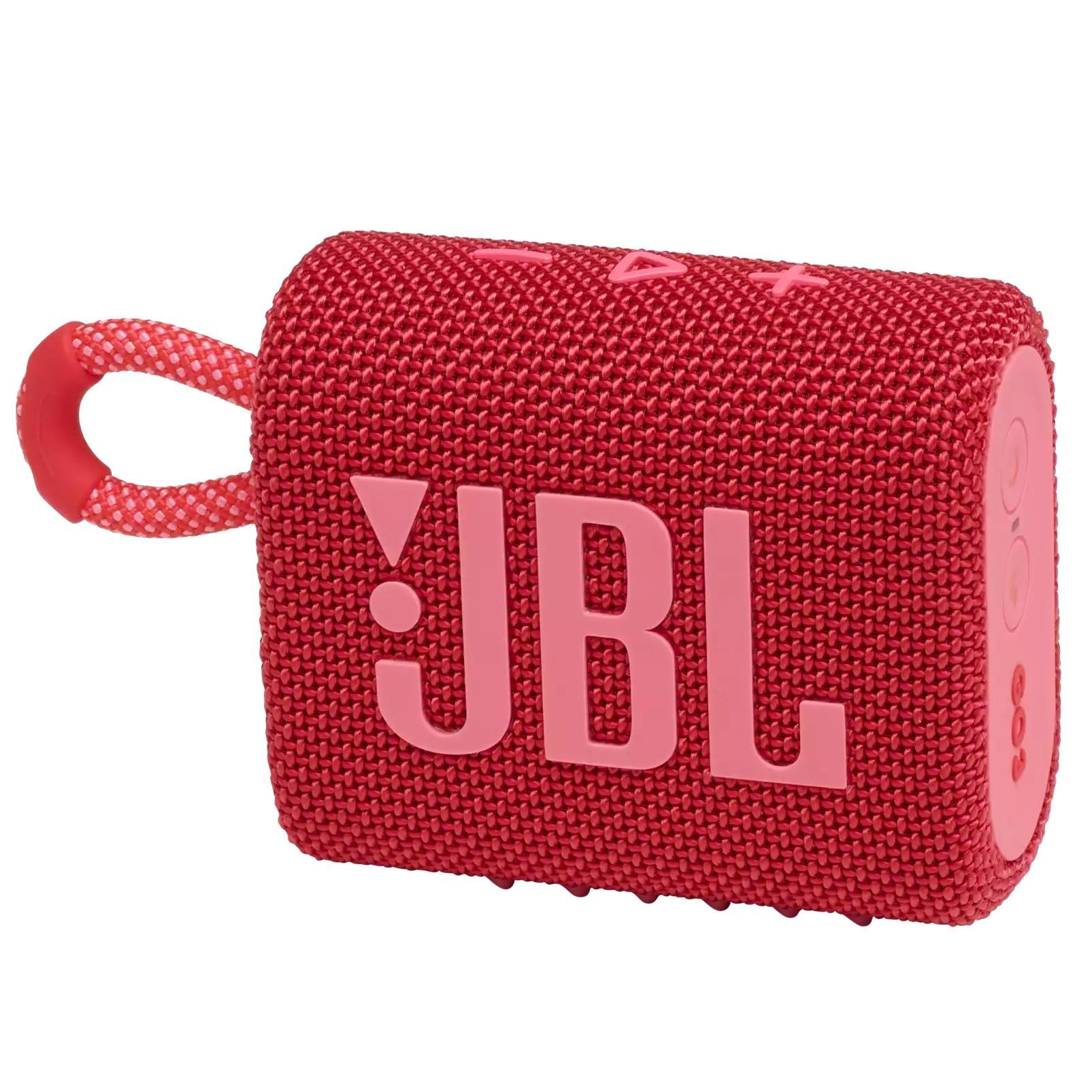 Блутут колонка JBL GO 3 Червен