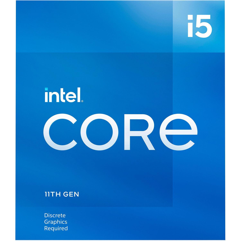 Процесор Intel Rocket Lake Core i5-11400F, 6 Cores, 2.60Ghz (Up to 4.40Ghz), 12MB, 65W, LGA1200, BOX