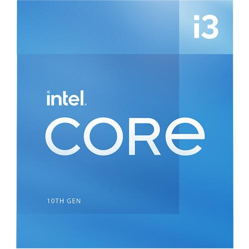 Процесор Intel Comet Lake Core i3-10105, 4 Cores, 3.70 GHz (Up to 4.40Ghz), 6MB, 65W, LGA1200, BOX