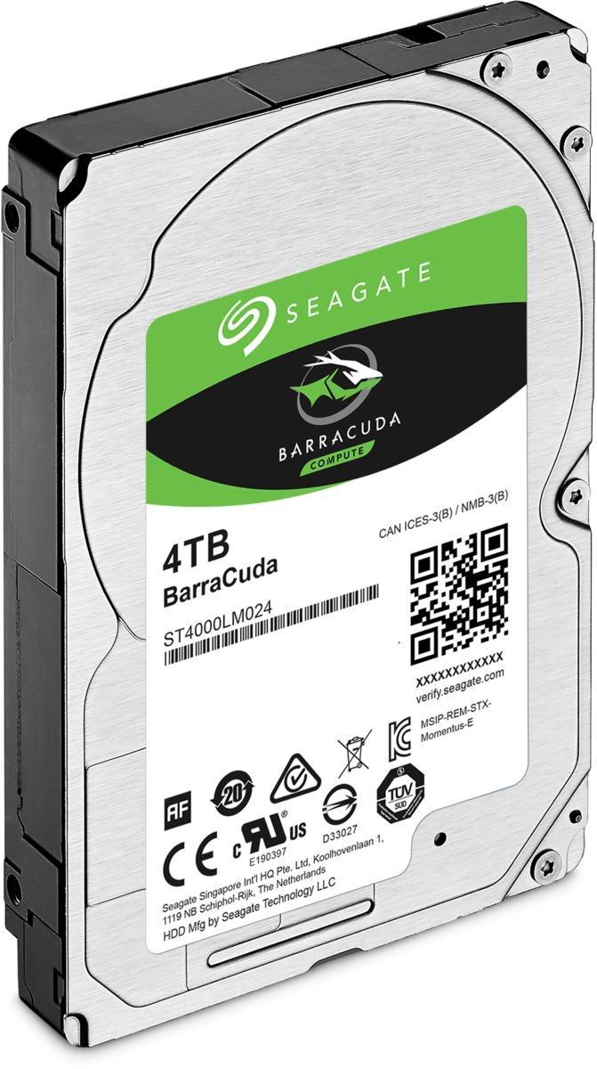 "Хард диск SEAGATE BarraCuda, 4TB, 5400RPM, 2.5"", 128MB, ST4000LM024-2"