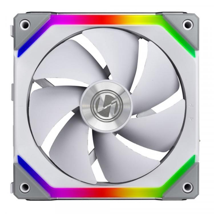 Вентилатори Lian Li UNI SL140, ARGB, 2 Fan комплект, с включен контролер, Бял-4