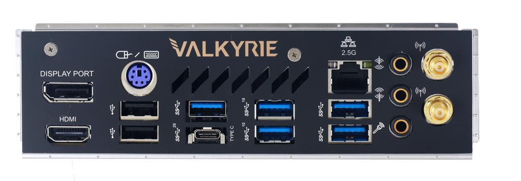 Дънна платка BIOSTAR Z590I VALKYRIE, Mini-ITX,  WI-FI 6, socket 1200-4