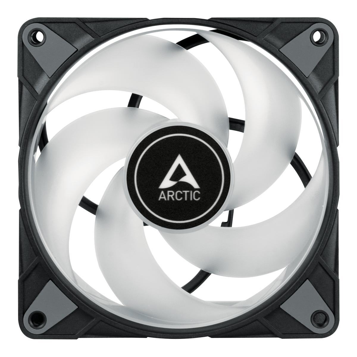 Вентилатор ARCTIC P12 Black, RGB, 120mm-2