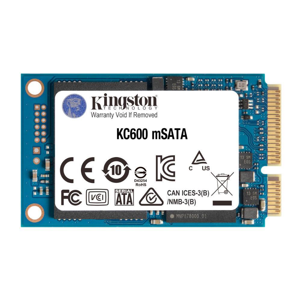 Solid State Drive (SSD) KINGSTON KC600, 1024GB, mSATA