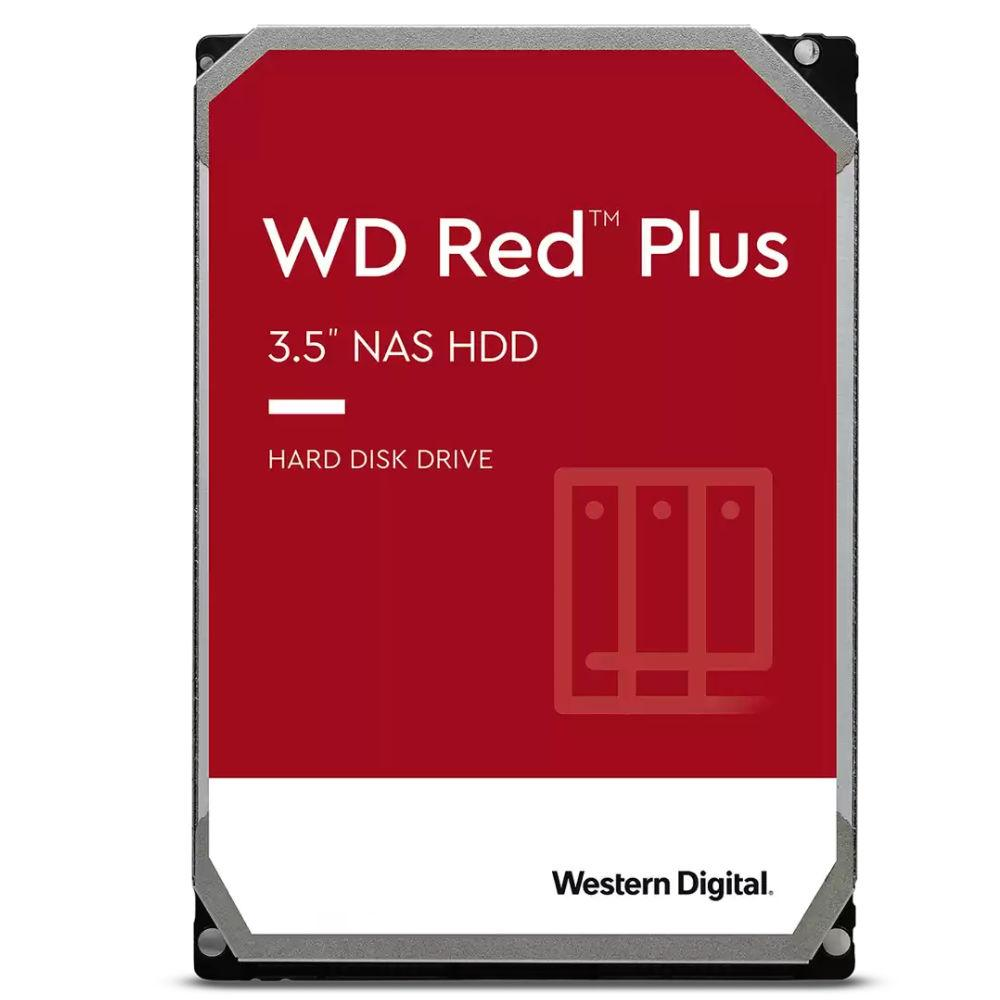Хард диск WD Red Plus, 10TB, 256MB Cache, SATA3 6Gb/s