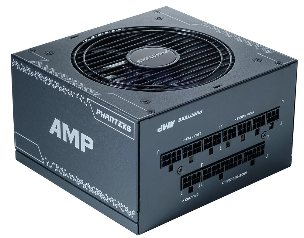 Захранващ блок Phanteks AMP 80 Plus Gold, 550W, Full Modular