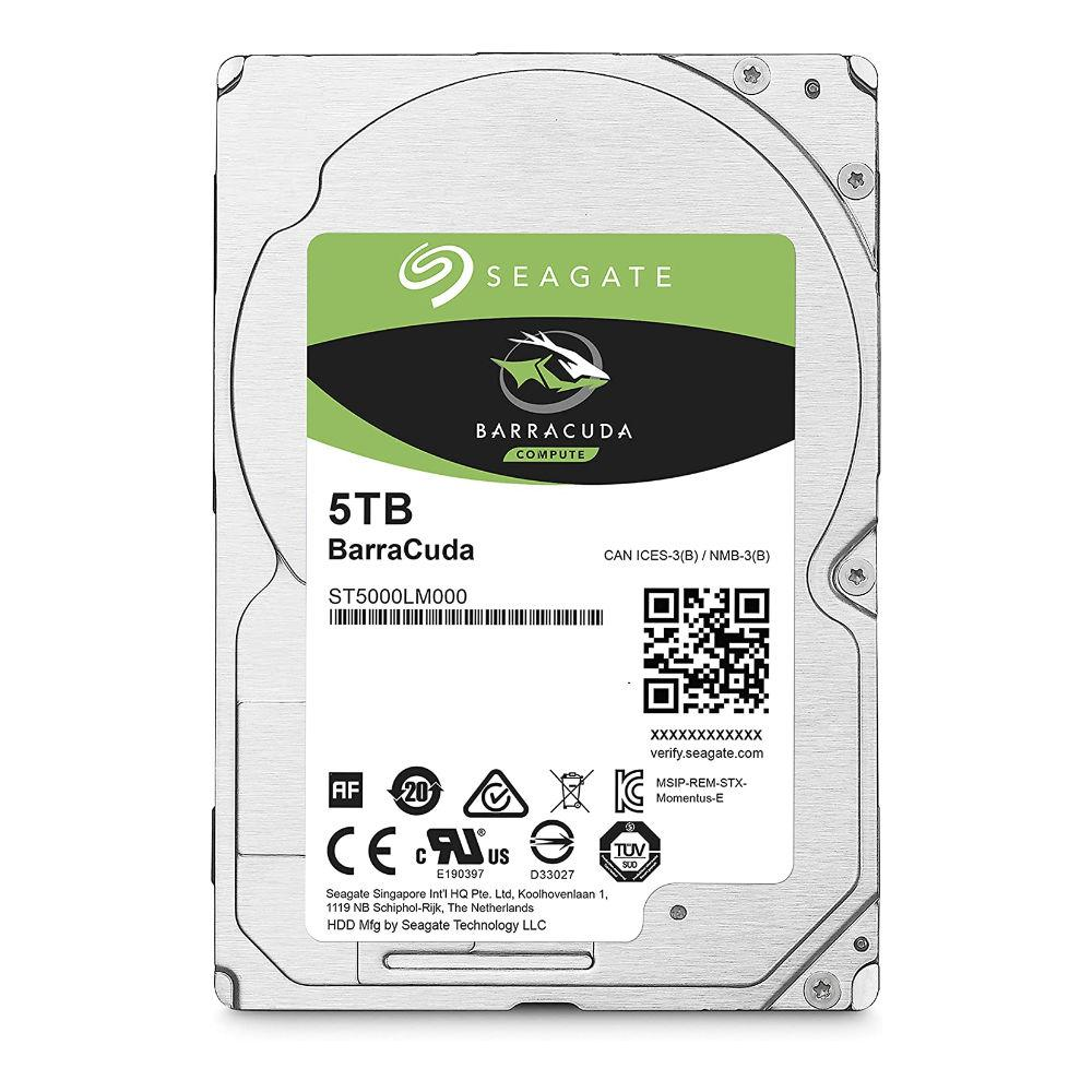 "Хард диск SEAGATE BarraCuda 5TB, 5400RPM, 2.5"", 128MB, ST5000LM000"