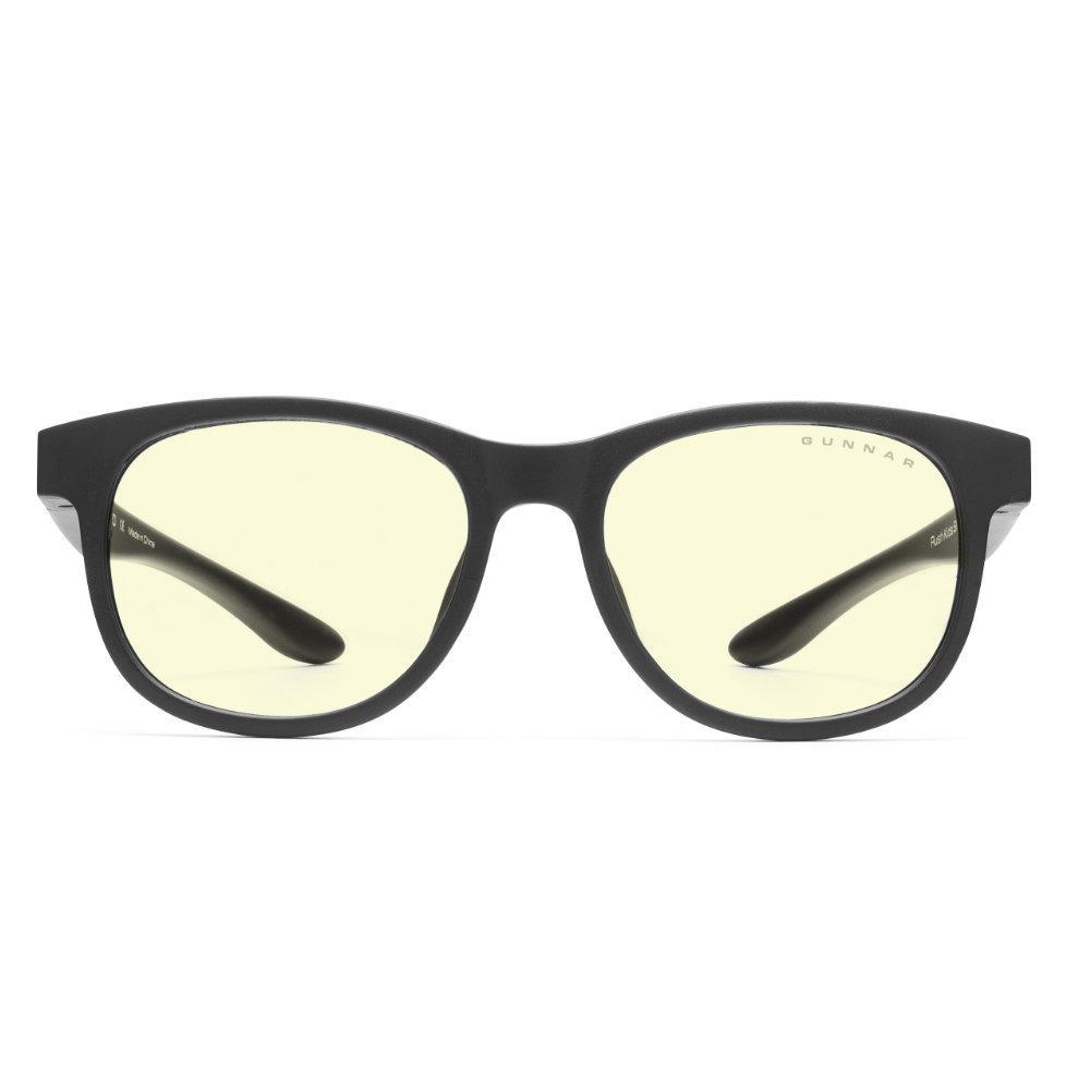 Детски компютърни очила GUNNAR Rush Kids Small, Amber Natural, Черен-2