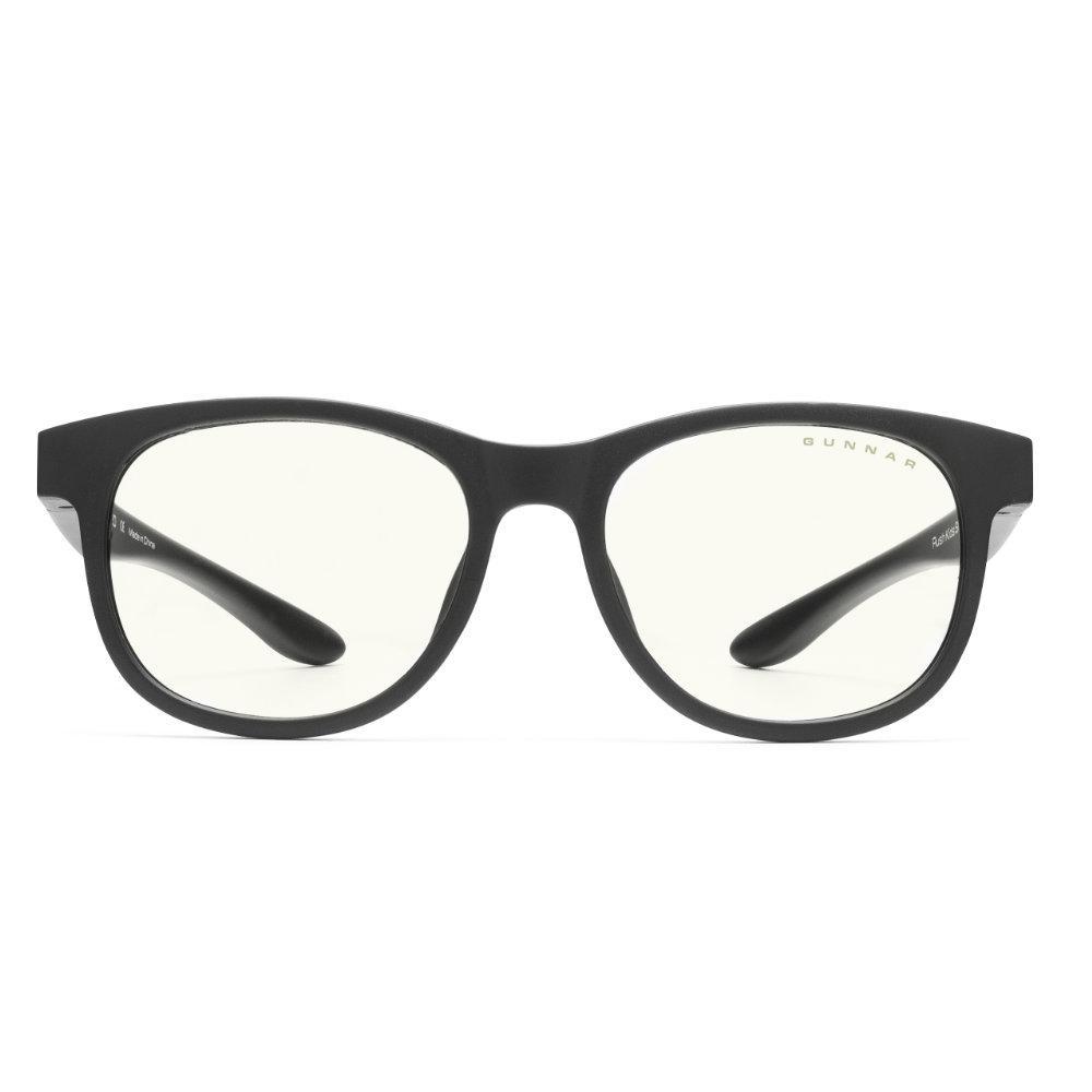 Детски компютърни очила GUNNAR Rush Kids Small, Clear Natural, Черен-2
