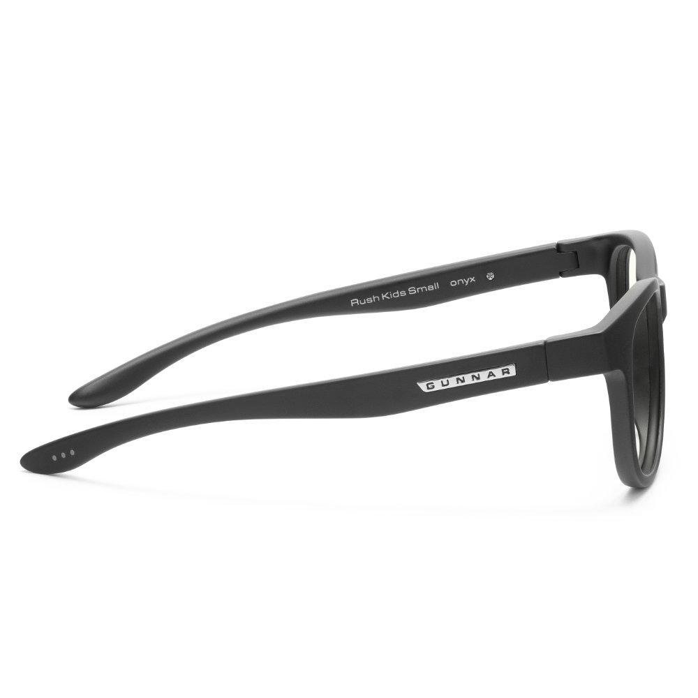 Детски компютърни очила GUNNAR Rush Kids Small, Clear Natural, Черен-3