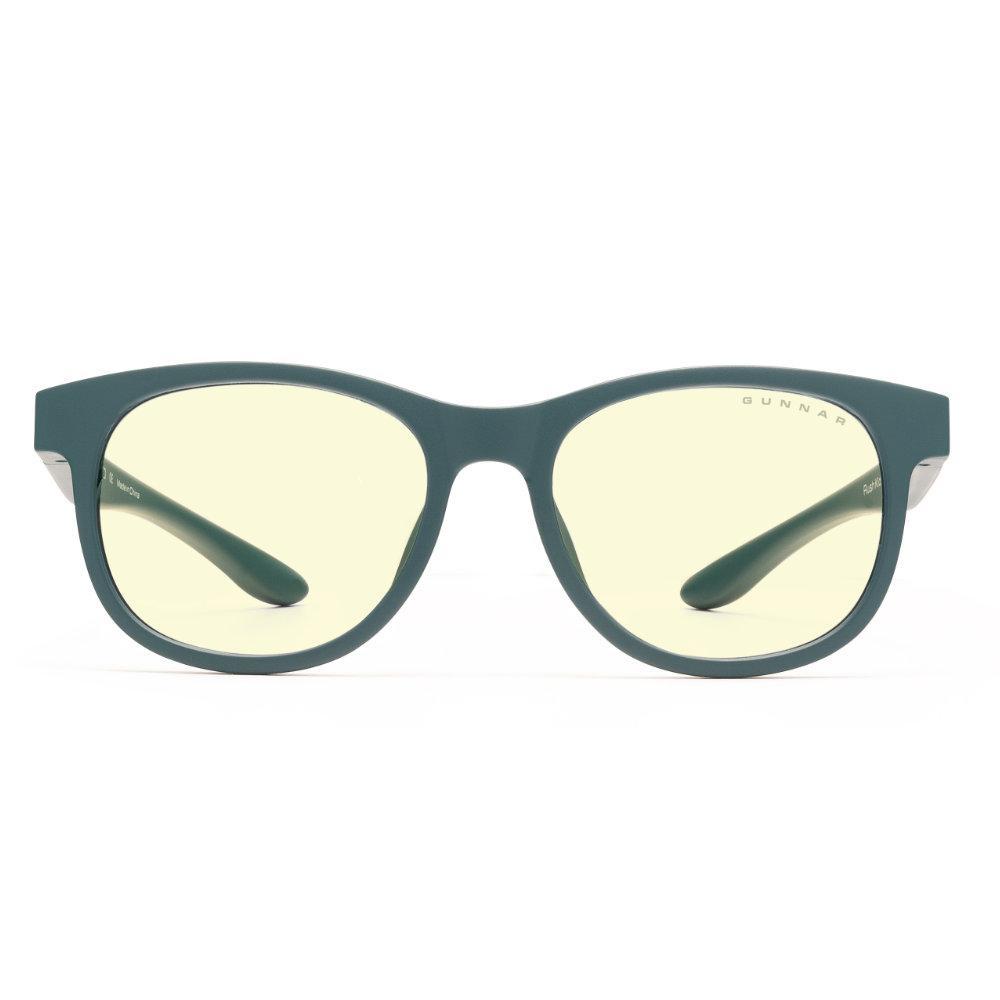 Детски компютърни очила GUNNAR Rush Kids Small, Amber Natural, Зелен-2