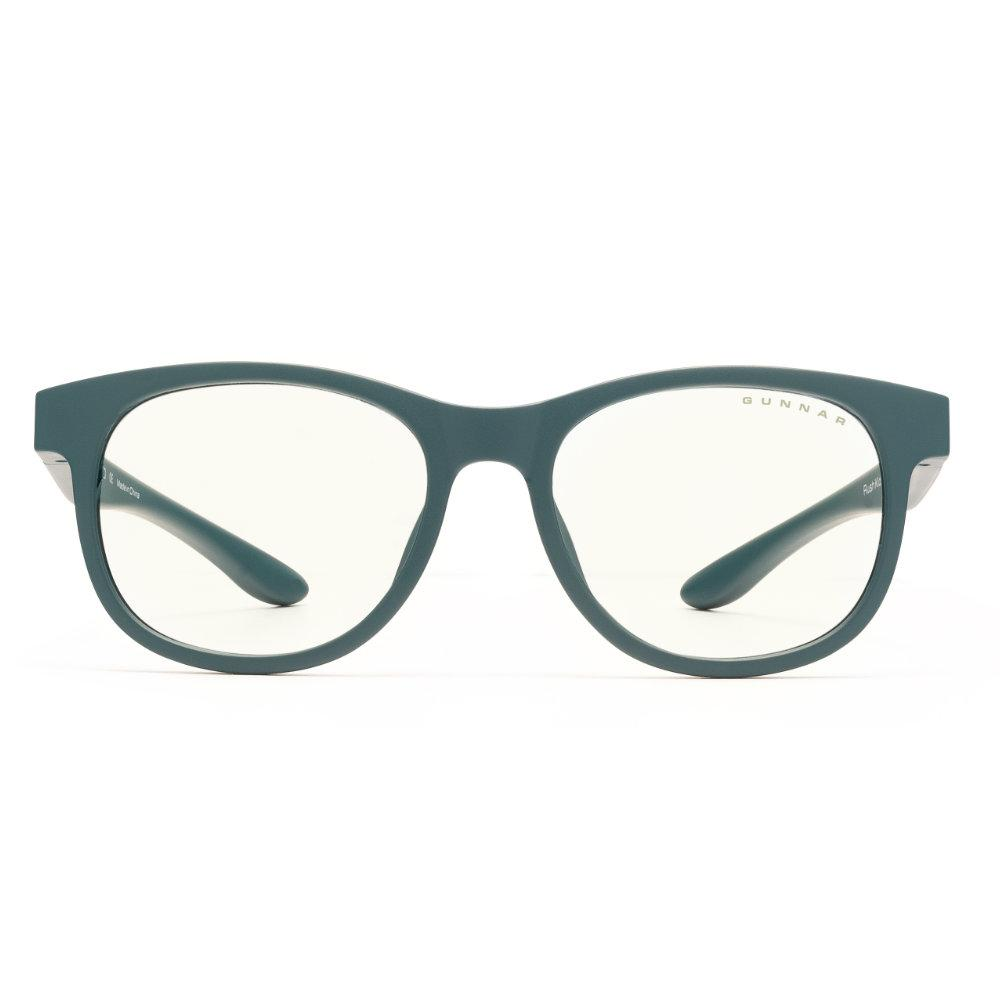 Детски компютърни очила GUNNAR Rush Kids Small, Clear Natural, Зелен-2