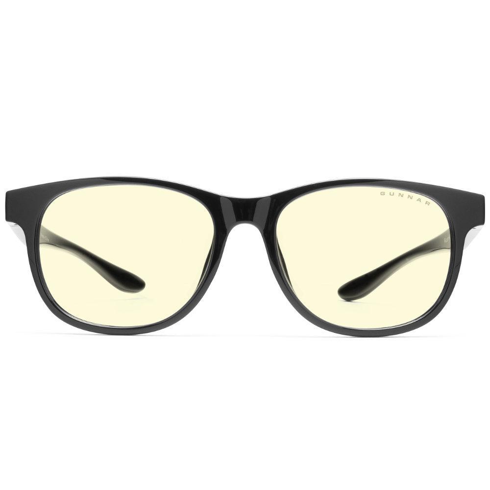 Детски компютърни очила GUNNAR Rush Kids Large, Amber Natural, Черен-2