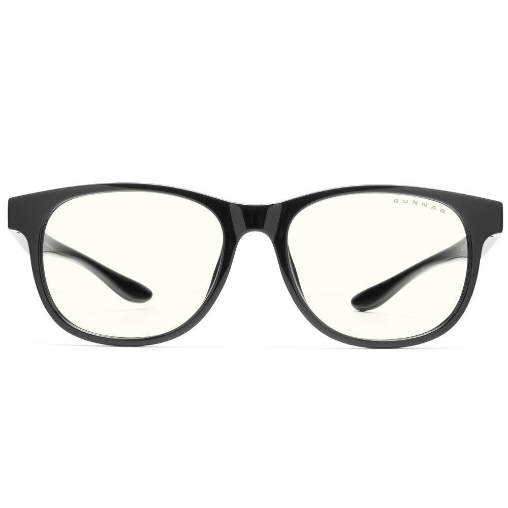 Детски компютърни очила GUNNAR Rush Kids Large, Clear Natural, Черен-2