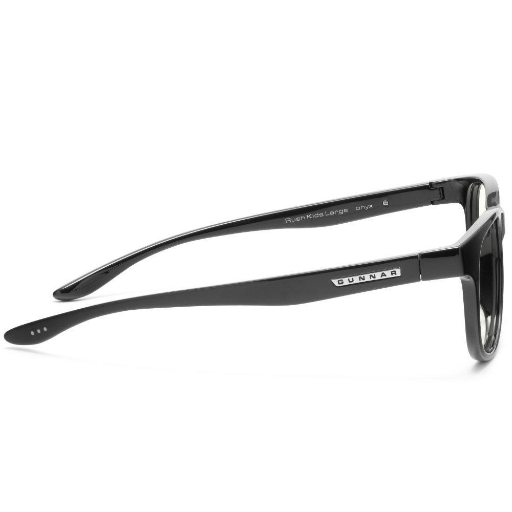 Детски компютърни очила GUNNAR Rush Kids Large, Clear Natural, Черен-3