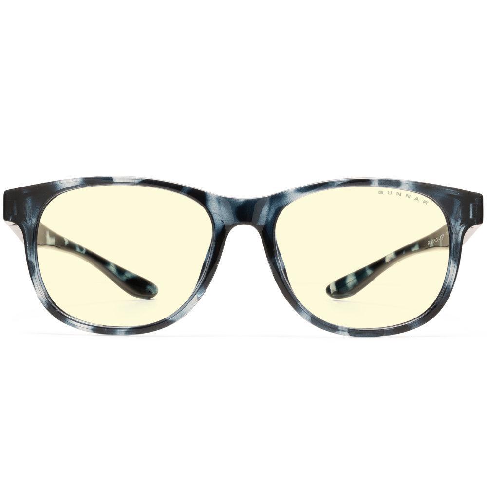 Детски компютърни очила GUNNAR Rush Kids Large, Amber Natural, Син-2