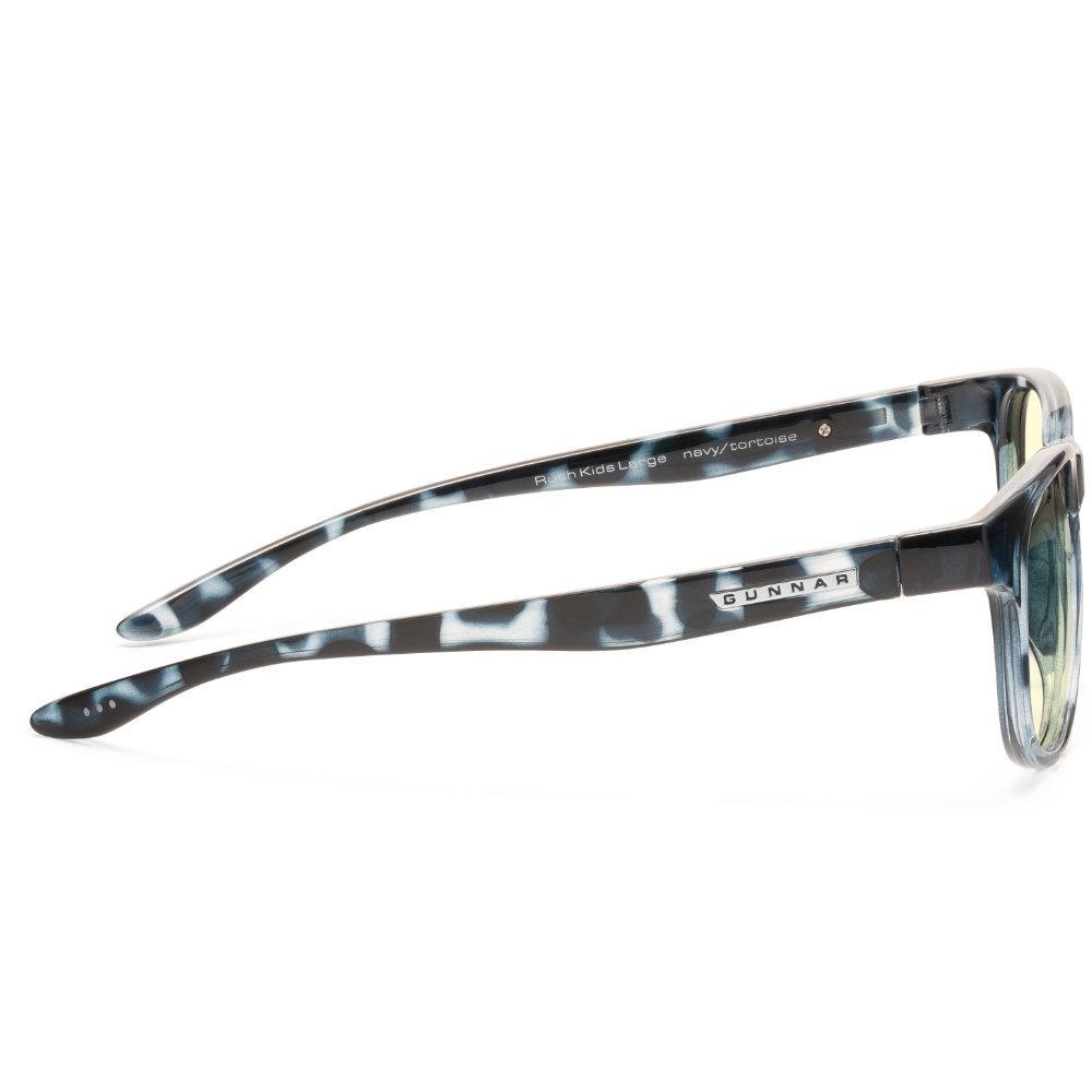 Детски компютърни очила GUNNAR Rush Kids Large, Amber Natural, Син-3