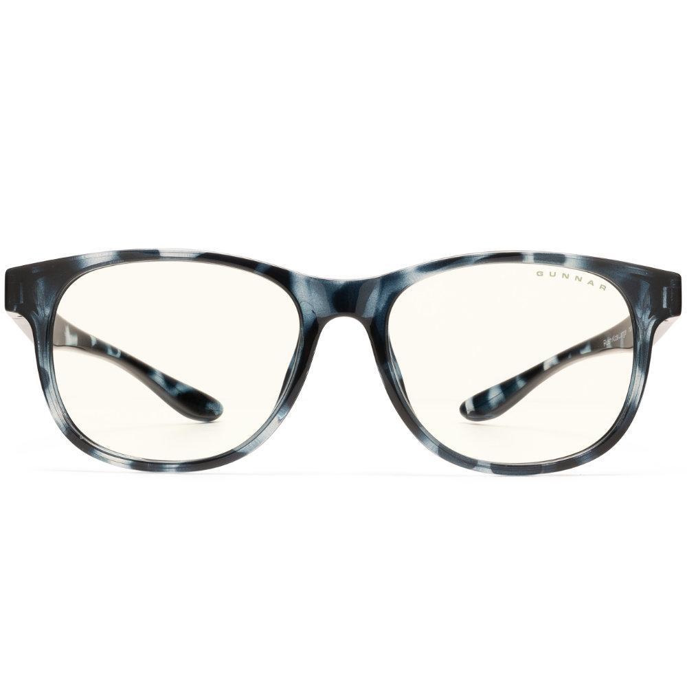 Детски компютърни очила GUNNAR Rush Kids Large, Clear Natural, Син-2