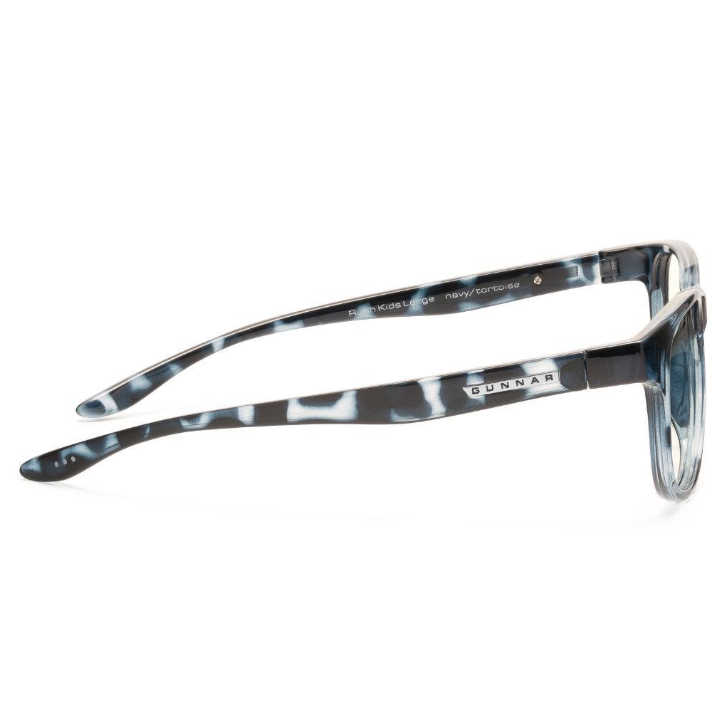 Детски компютърни очила GUNNAR Rush Kids Large, Clear Natural, Син-3
