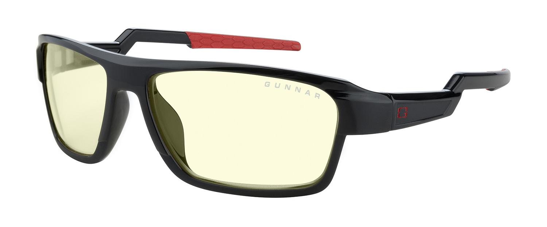 Компютърни очила GUNNAR Lightning Bolt Base Onyx, Amber