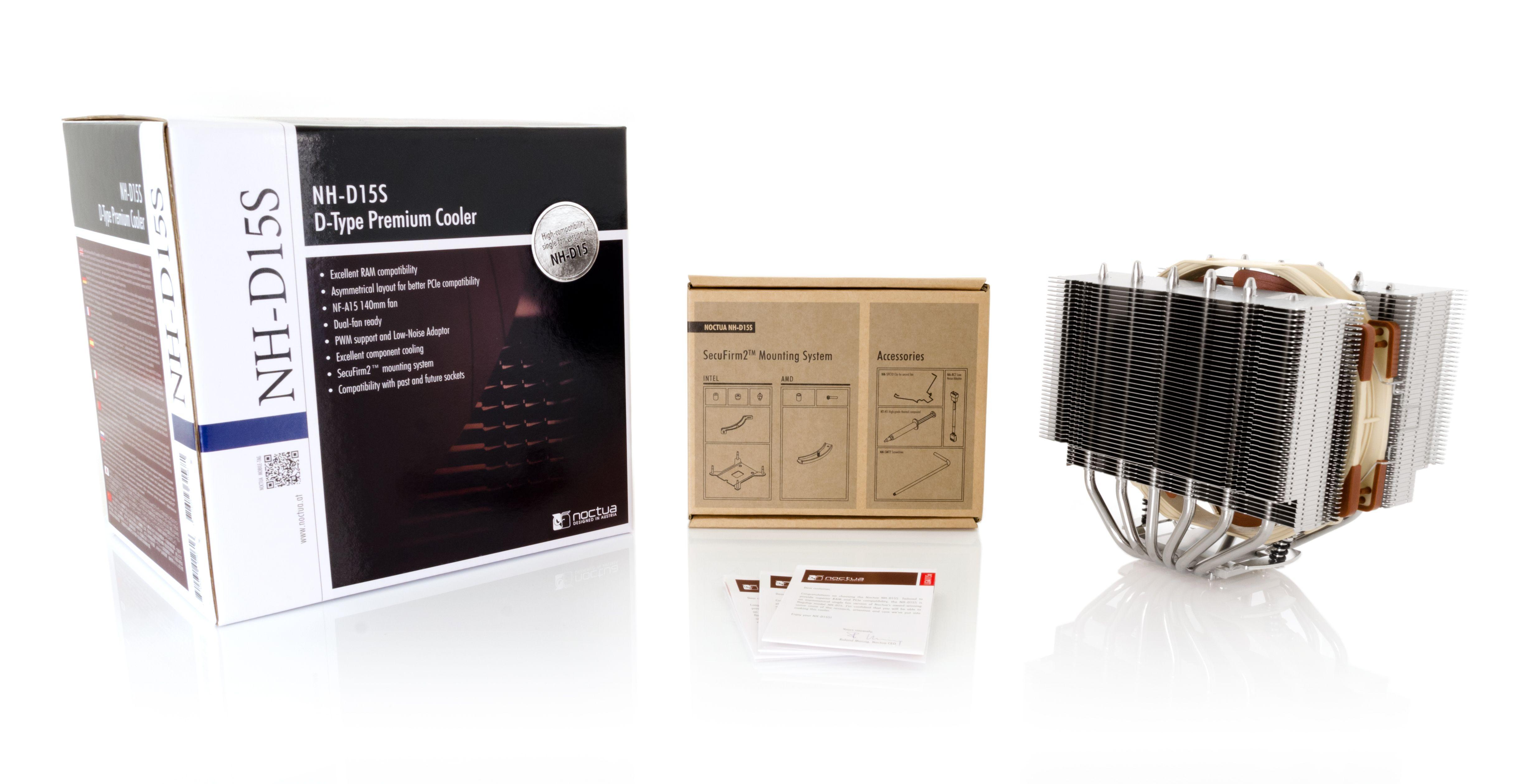 Охладител за процесор Noctua NH-D15S, за сокет 1155/1150/2011/AMD-3