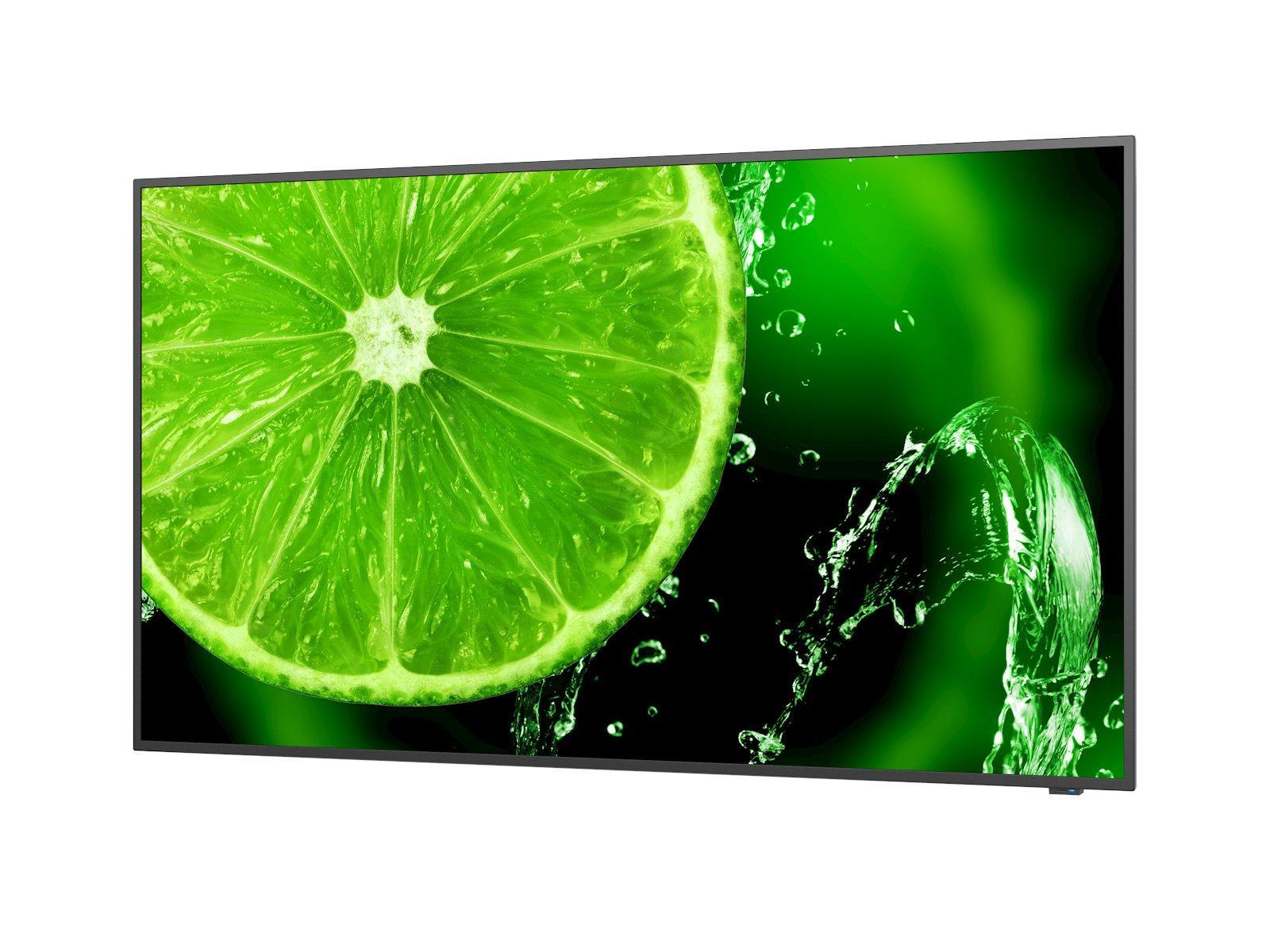 "Широкоформатен дисплей NEC MultiSync E438, 43"", UHD, 350cd/m2, Direct LED backlight, 16/7 proof, Media Player-2"
