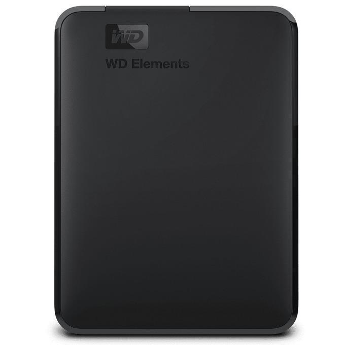 """Външен хард диск Western Digital Elements Portable, 5TB, 2.5"""", USB 3.0, Черен"""