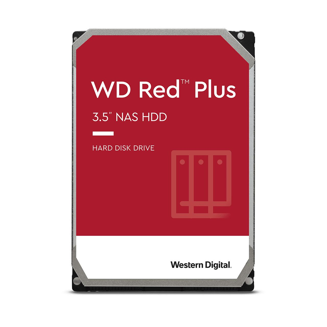 """Хард диск WD Red Plus 6TB NAS 3.5"""" 128MB 7200RPM, WD60EFZX"""