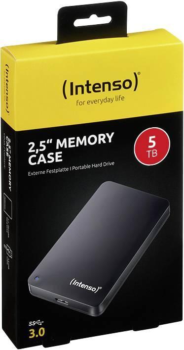 """Външен хард диск Intenso, 2.5"""", 5TB, USB 3.0-3"""