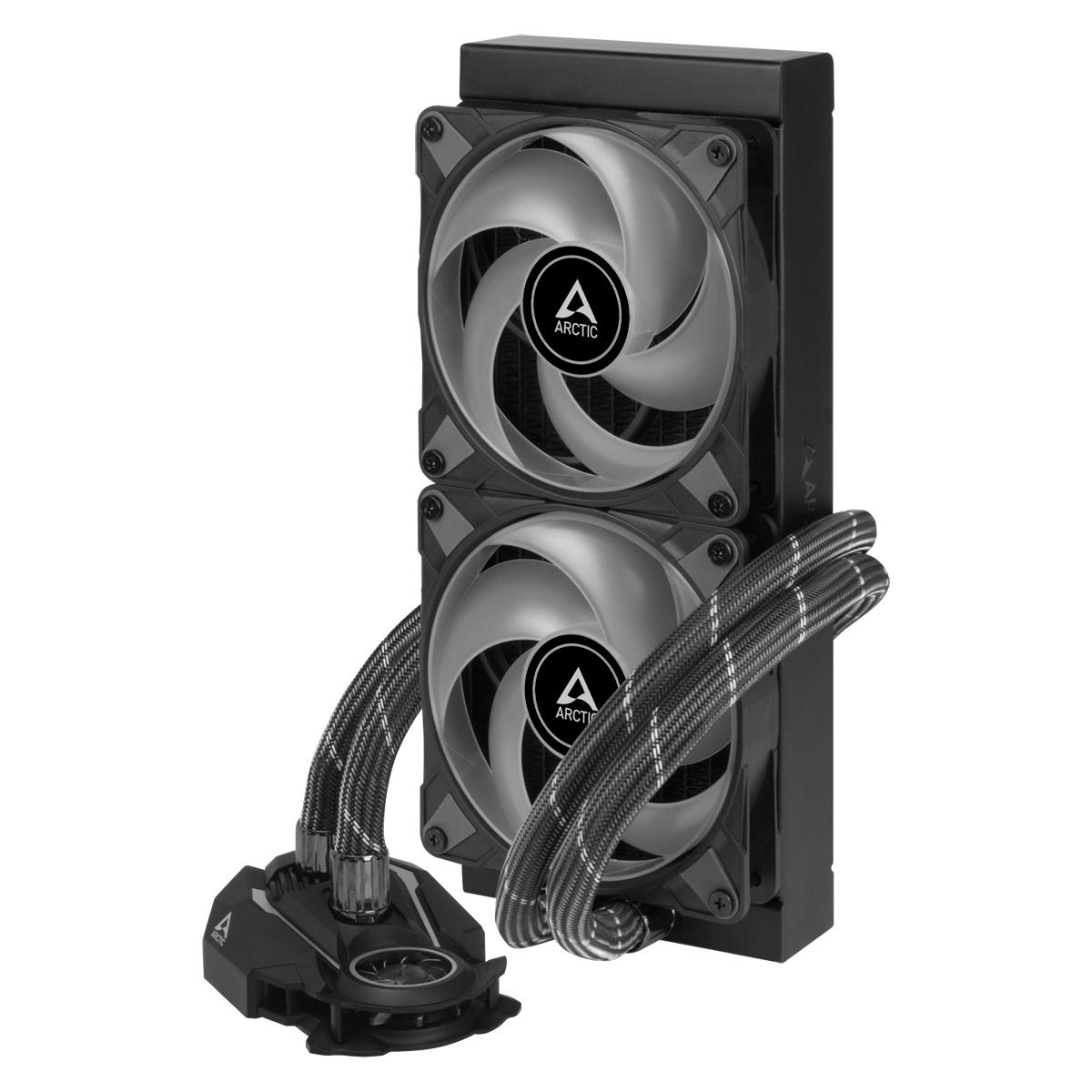 Охладител за процесор Arctic Freezer II RGB (240mm), водно охлаждане, ACFRE00098A AMD/Intel-3