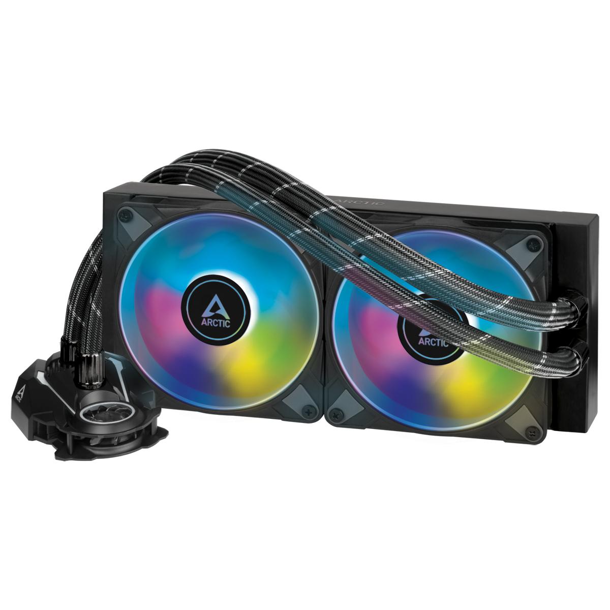 Охладител за процесор Arctic Freezer II A-RGB (240mm), водно охлаждане, ACFRE00098A AMD/Intel