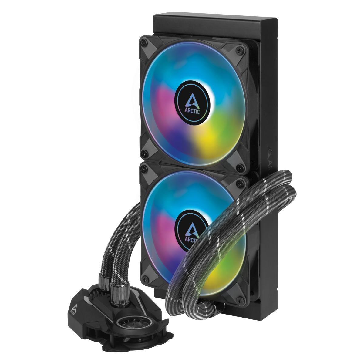 Охладител за процесор Arctic Freezer II A-RGB (240mm), водно охлаждане, ACFRE00098A AMD/Intel-3