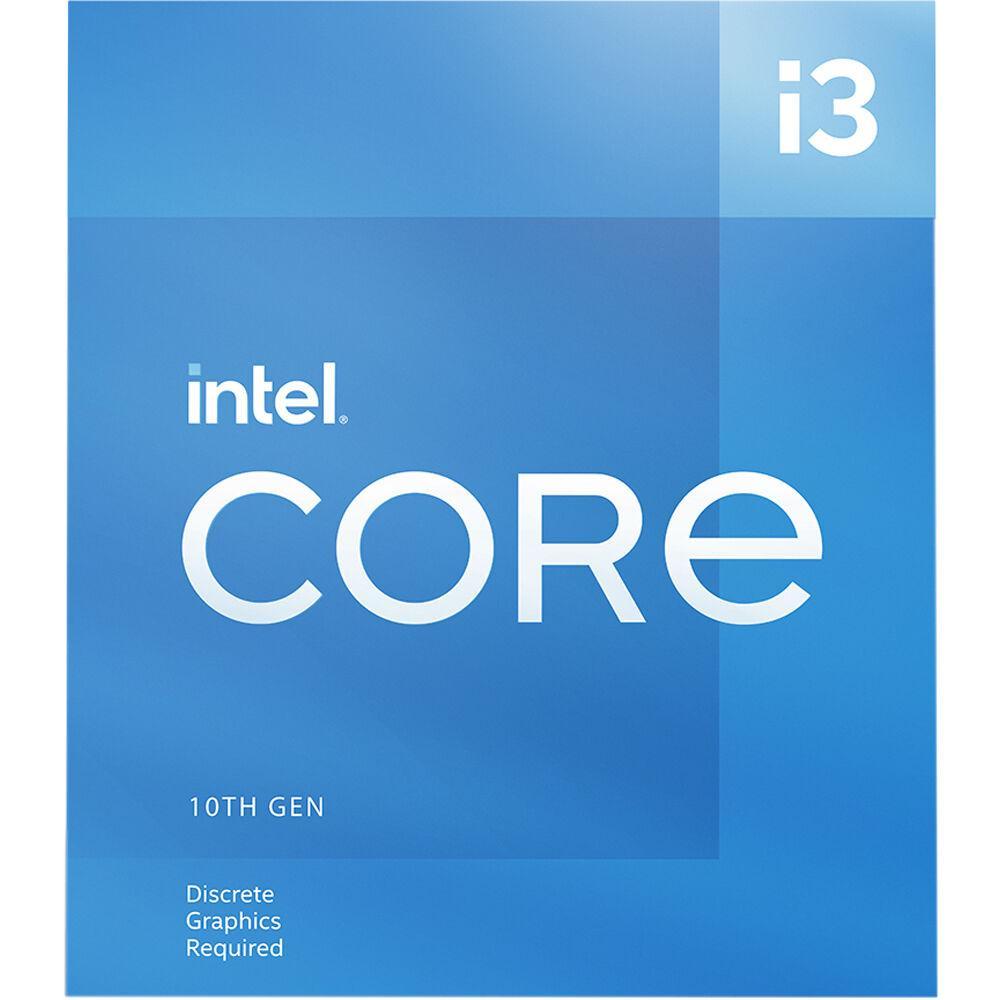 Процесор Intel Comet Lake-S Core I3-10105F, 4 cores, 3.7Ghz (Up to 4.40Ghz) 6MB, 65W, LGA1200, BOX
