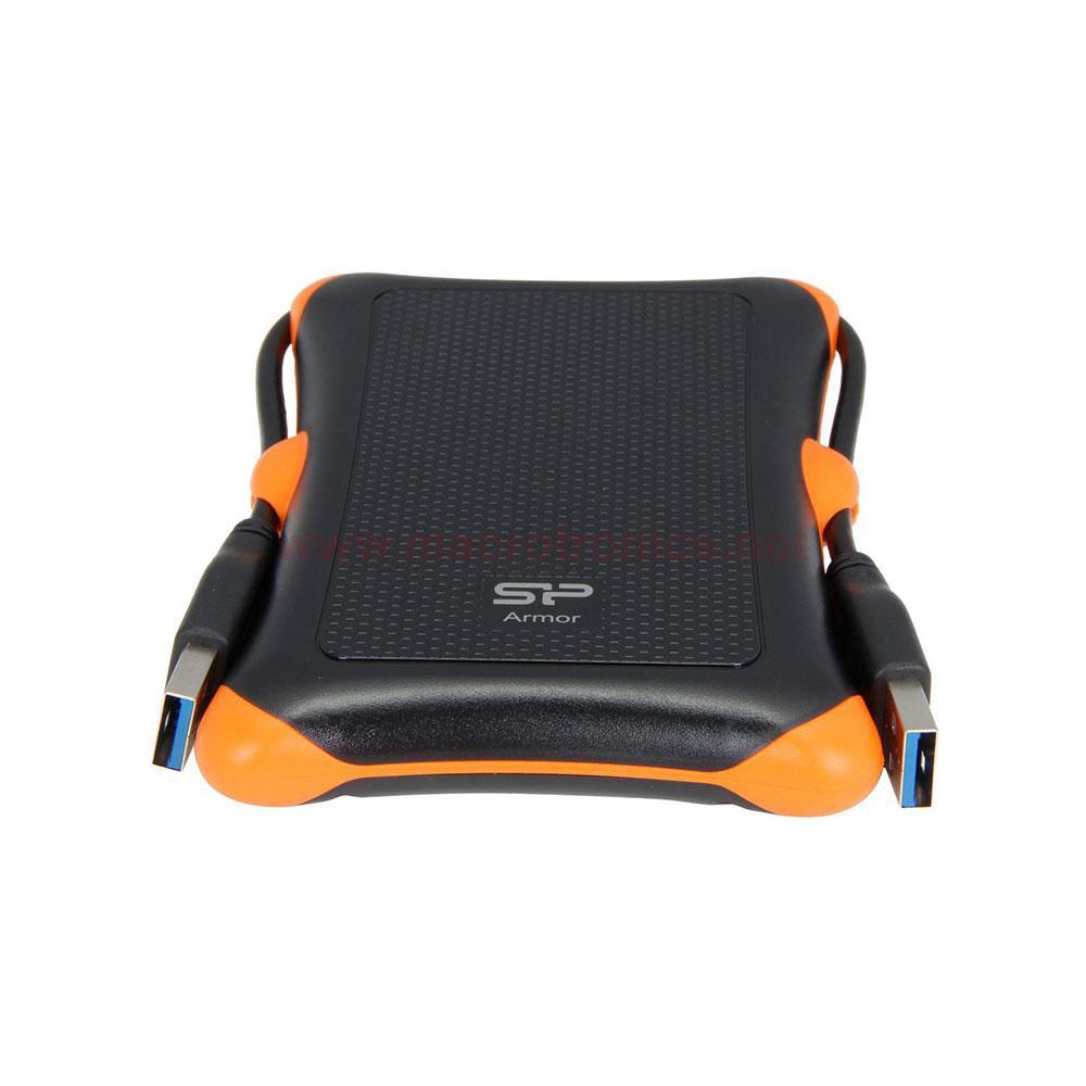 Външен хард диск SILICON POWER Armor A30, 2.5, 1TB, USB3.1, Черен