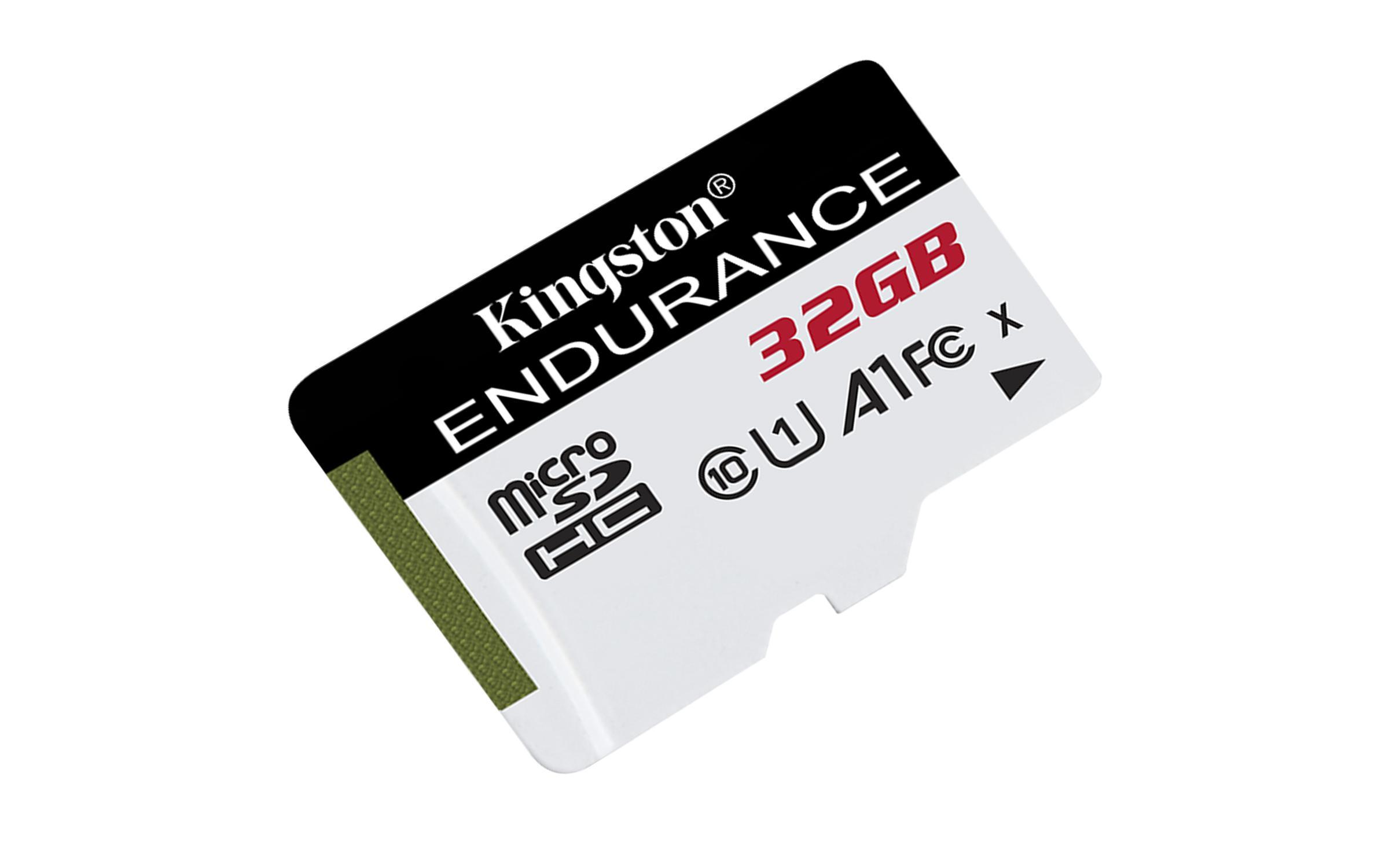 Карта памет Kingston Endurance microSDHC 32GB, Class 10 UHS-I U1 A1-2