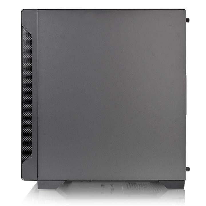 Кутия THERMALTAKE S100 TG, Micro Tower, Черна-4