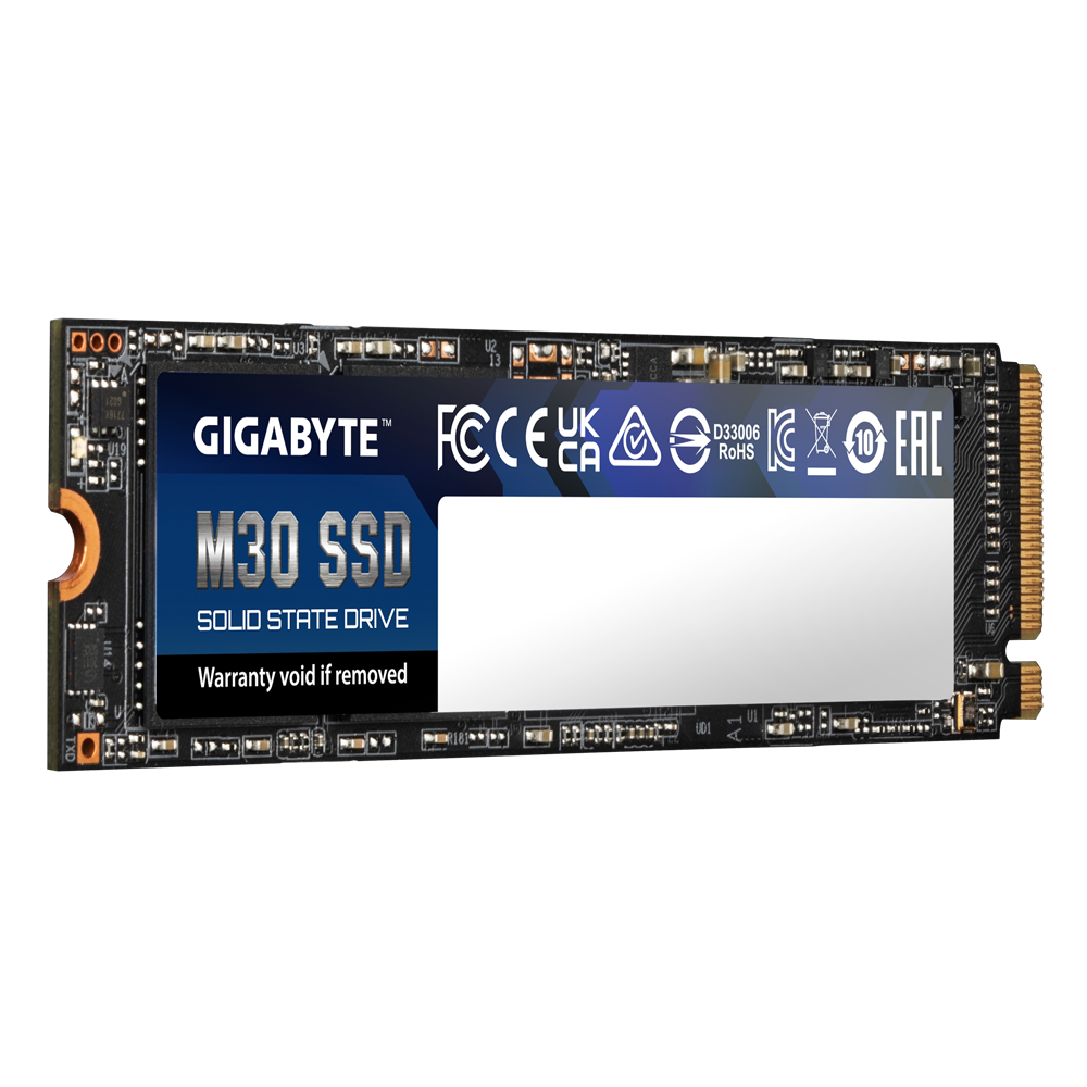 Solid State Drive (SSD) Gigabyte M30, 512GB, NVMe, PCIe Gen3, M.2 -2