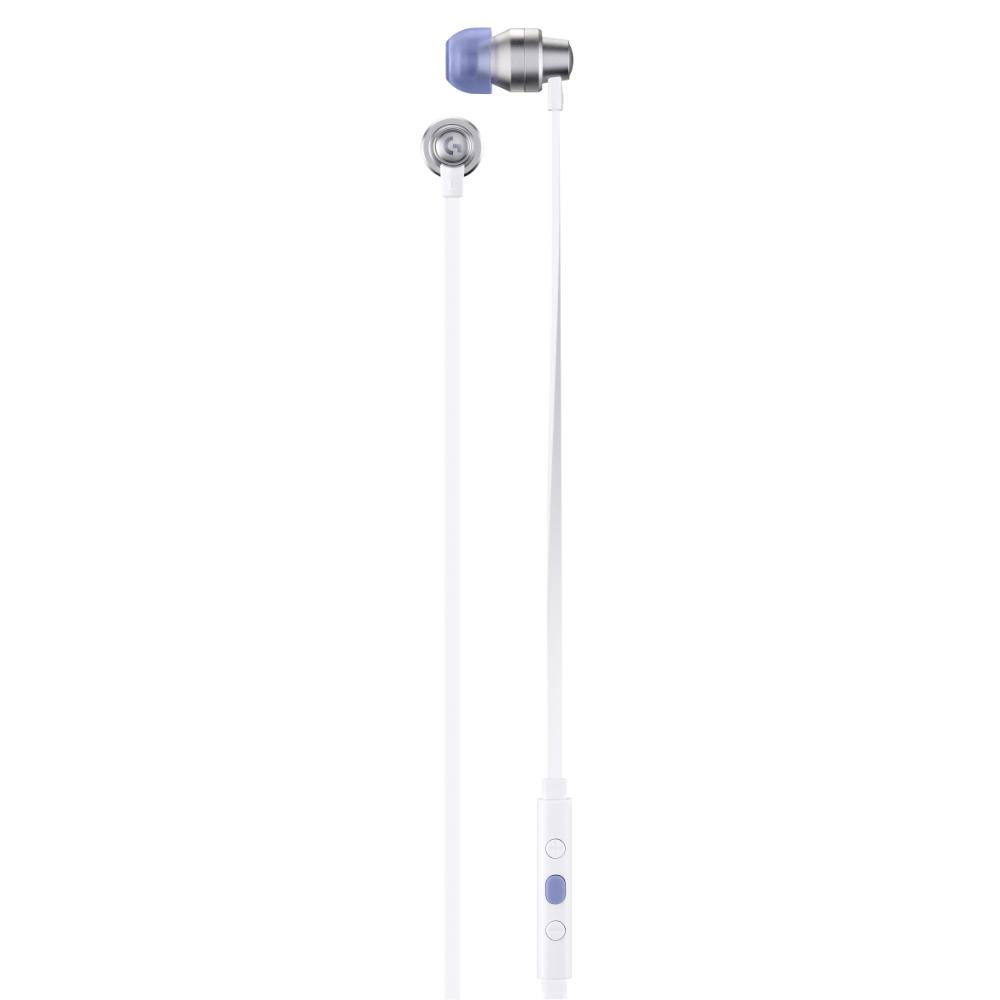 Геймърски слушалки с микрофон Logitech G333 In-ear 3.5 mm + USB-C adapter, тапи жични, бели-4